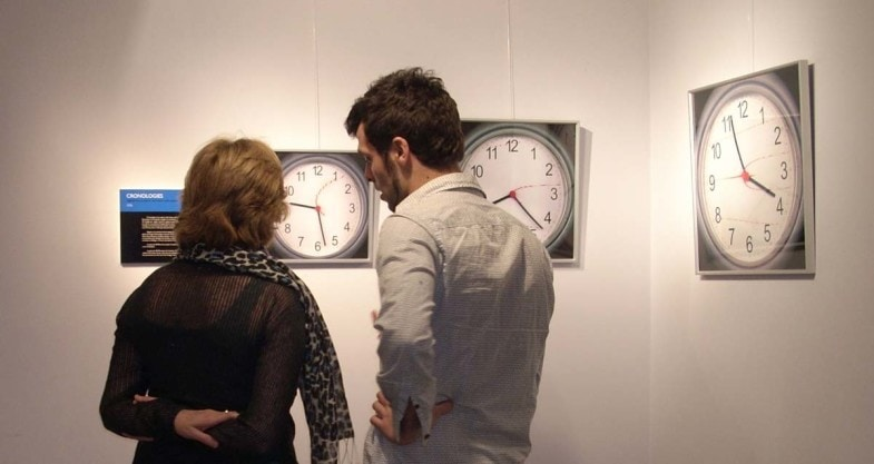 Cronologíes, de Quelic Berga, exposició a Sala d'Igualada